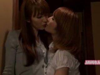 brünette, japanisch, lesbisch
