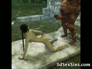 3d aliens και demons γαμώ κορίτσια!
