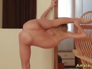 tieners, vol masturbatie neuken, hq blond video-