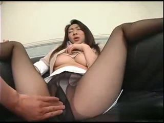 you brunette porno, real oral sex action, japanese
