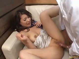 Twat of chick is caressed