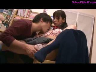 japanse, nieuw meisje kanaal, schoolmeisje actie