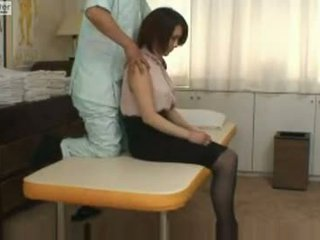 Japonsko šolarka gets zajebal s ji massager