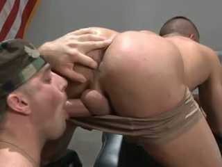 Gay jocks ass gets pounded after head