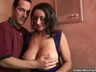 vers brunette seks, grote borsten klem, pijpbeurt vid