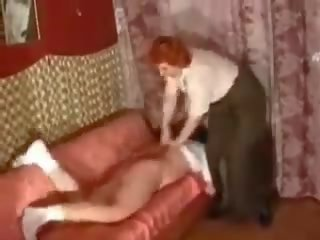 oma tube, spanking porno