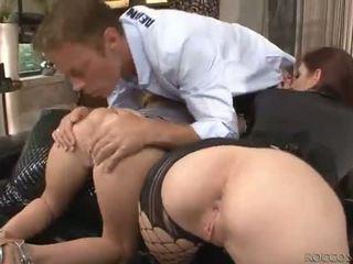 brunette, ass fucking, blowjob, anal