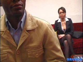 französisch spaß, schön alt + young mehr, neu interracial echt