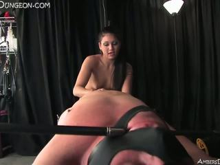 Femdom Mistress Punishes Bisexual Male Slaves: Free Porn 81