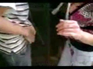 Argentinsk jente hng moro etter klasse