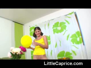 Teen Caprice gets a dildo as a birthday gift - Porn Video 751