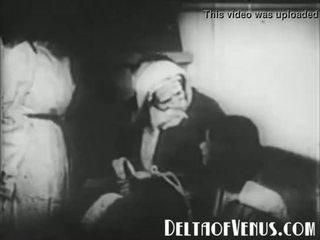 Hiếm 1920s cổ xmas khiêu dâm - một giáng sinh tale