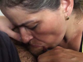 MILF Neighbor Sucking Dick with Cum in Mouth: Free Porn 78
