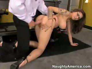 الآسيوية وقحة adrenalynn getting pounded في لها مهبل بواسطة ل شاق قضيب