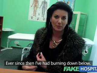 Fakehospital smart eldre sexy milf has en sex confession