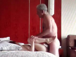 Oldman with Chinese Girl, Free Asian HD Porn ca