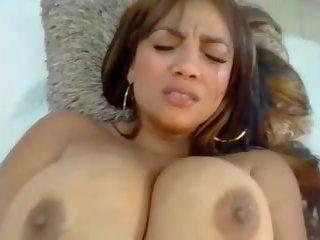 Latina: Colombian & Big Natural Tits Porn Video