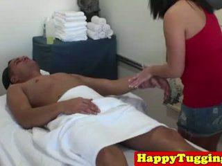 realiteit scène, vol mollig, masseuse neuken