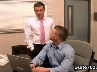 le plus chaud oral idéal, pipe, grand bureau qualité