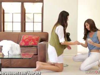 India tıknaz ve casey calvert uzun elbise ve manyetikler seçki