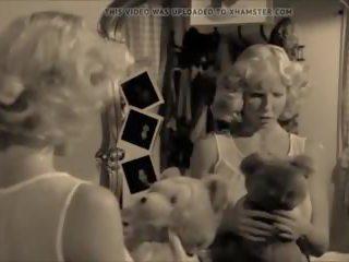 zien wijnoogst, nieuw retro film, heetste lingerie tube