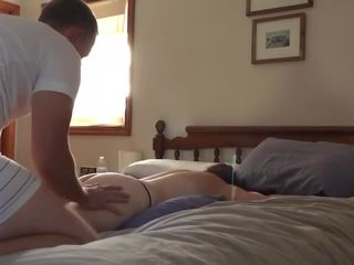 Homemade Couple Massage and Fuck, Free HD Porn 1d