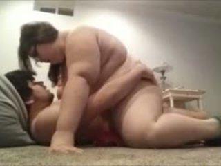 Fat Teen Couple Having Sex On Camera