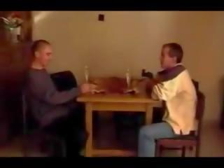 u dubbele penetratie scène, cum in de mond video-, vol wijnoogst seks