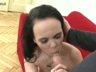 Sweet Mature Mother Suck and Fuck Big Young Cock: Porn cd