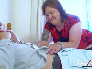 Agedlove Busty Mature Playing Hard with Handy Man: Porn d1