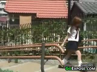 Japonais écolière culottes