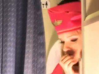 Seksi hoş gets taze talimat aboard