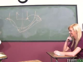 InnocentHigh Blonde schoolgirl teen Kaley Hilton f