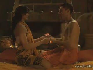 Erotisch reusachtig lul massage