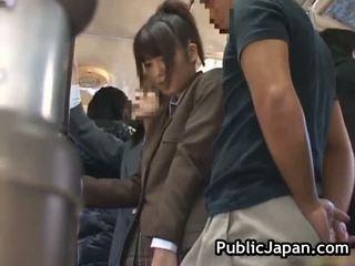 Asian Babe Has Public Porn