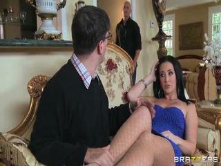 brunette, hardcore sex, blow job