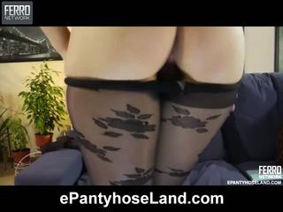 Virginia In Awesome Pantyhose Video
