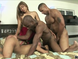 Pair Persons And Two Lady During Hot Bisexual Bonking Moment