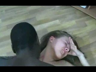 Črno guy znamk blondinke najstnice