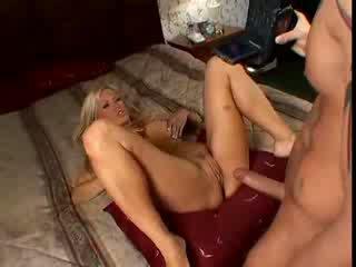 Amazing blonde milf POV hardcore