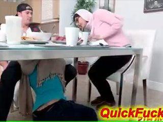 Mom seduces teen daughters boyfriend