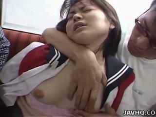Jepang rumaja in school seragam has bukkake gangbang