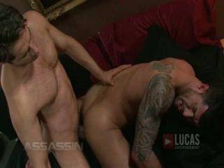 Michael lucas a adam killian súložiť passionately