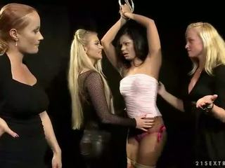 Hot slavegirl getting punished