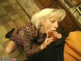 fajčenie, blondínky, milf