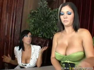 Claire Dames And Ricki Wihte Anal Threesome Video