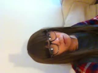 Cina crossdresser oleh webcam
