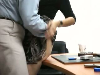 Sekretárka dostať fucked v kancelária