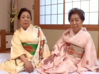 जापानी, bbw, नानी
