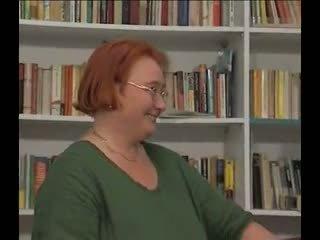 Bbw bibliotecar gets laid